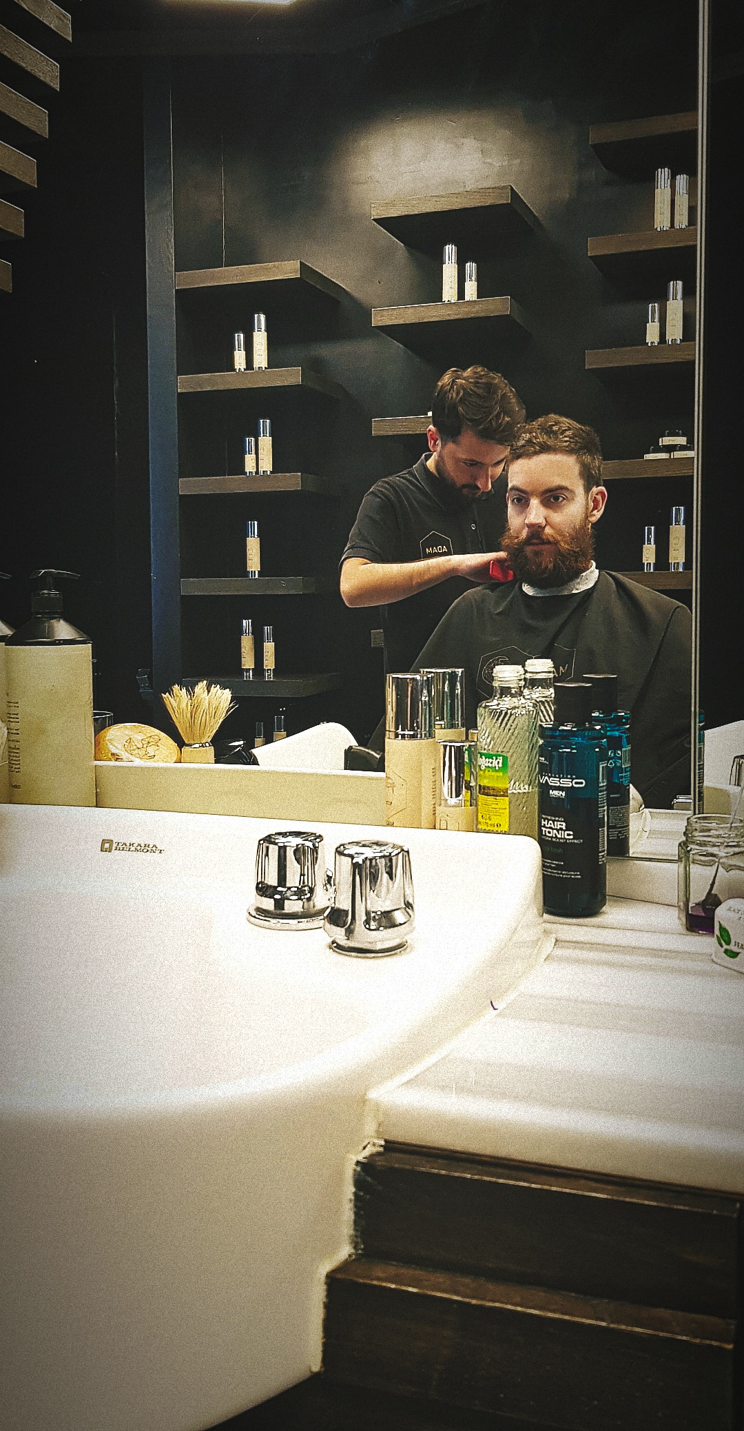 ADAM Grooming beard trim Turkish barbers