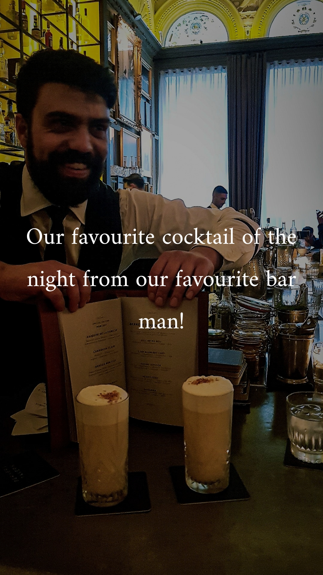 Celebrating the climax of Bacardi rum month with National Rum Day at The London Edition cocktail