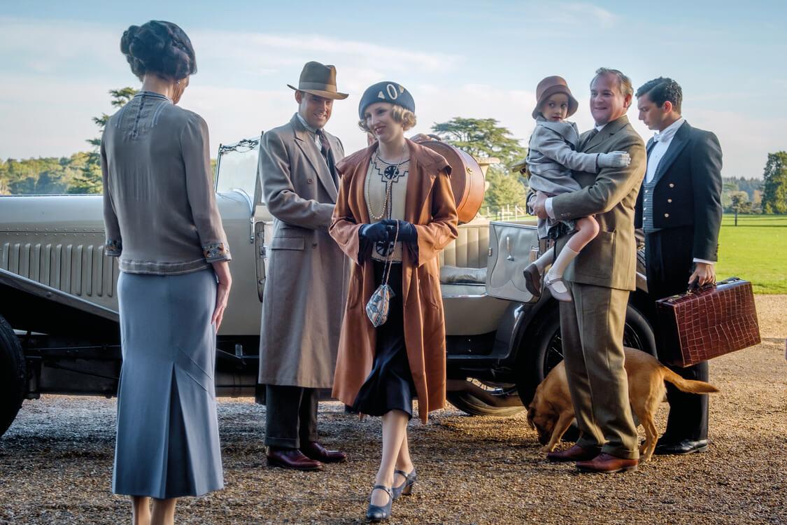 Dapper Downton Abbey suits hit the big screen