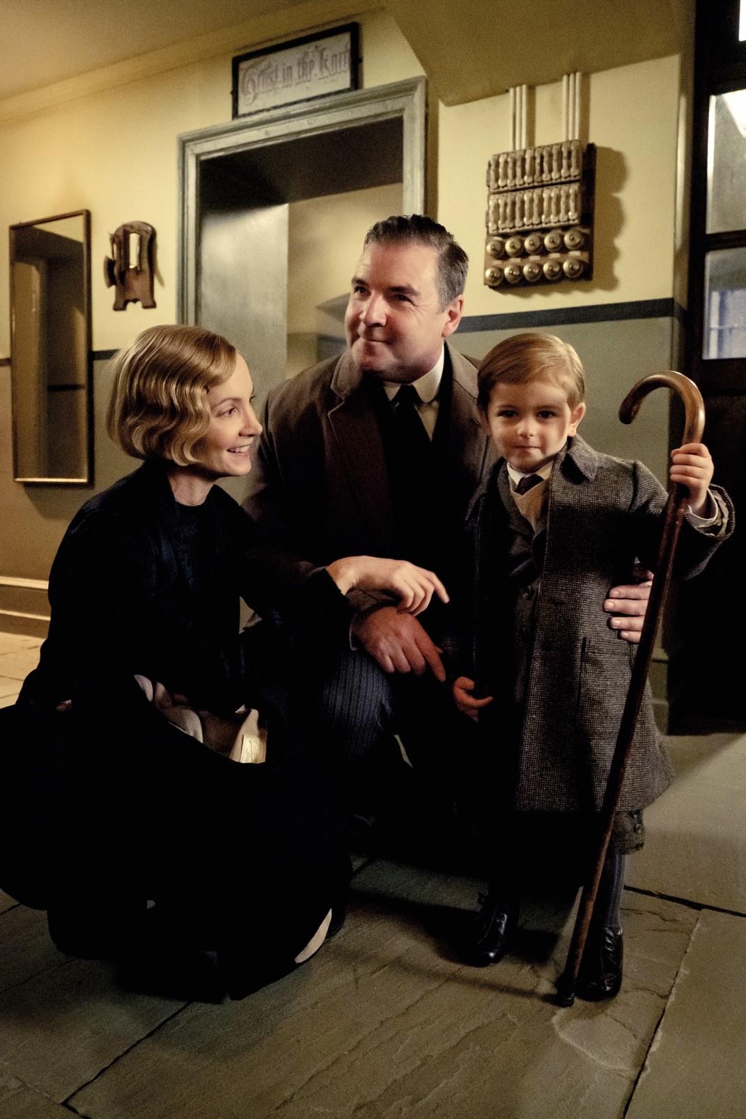 Dapper Downton Abbey suits hit the big screen Mr Bates