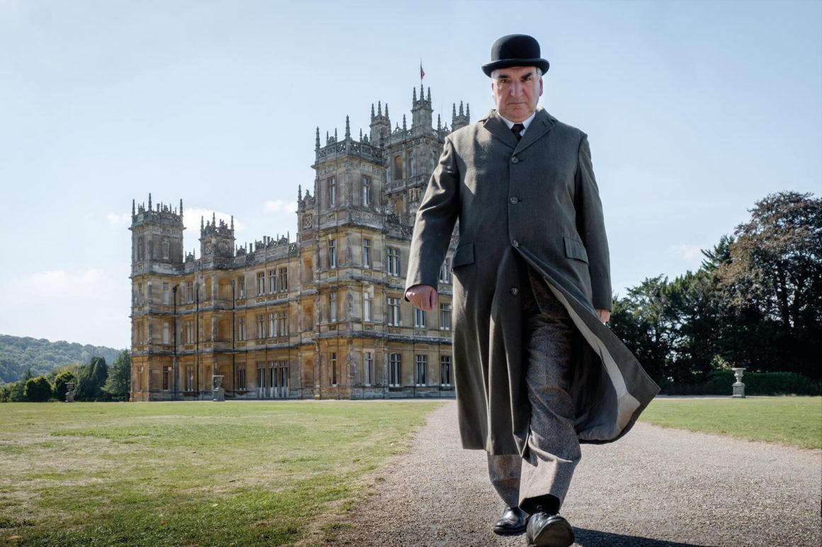 Dapper Downton Abbey suits hit the big screen Mr Carson