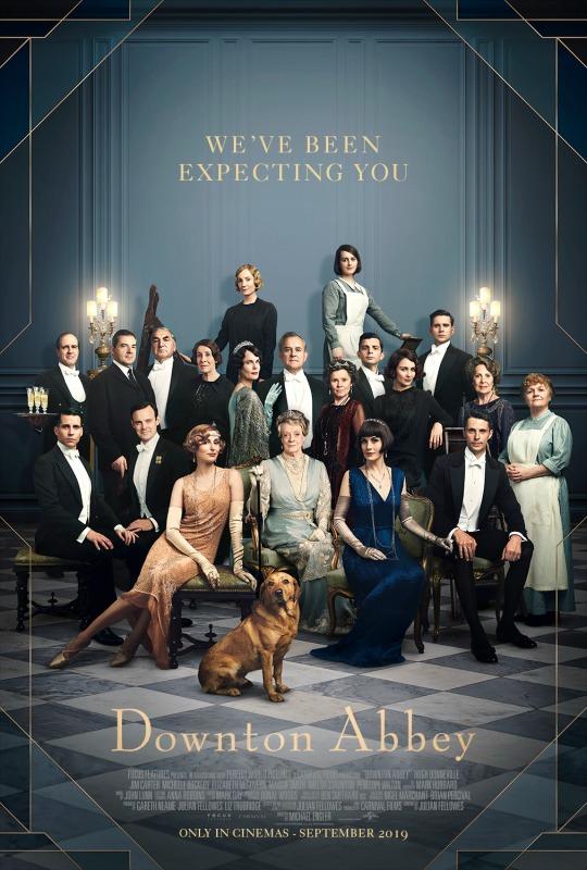 Dapper Downton Abbey suits hit the big screen cast