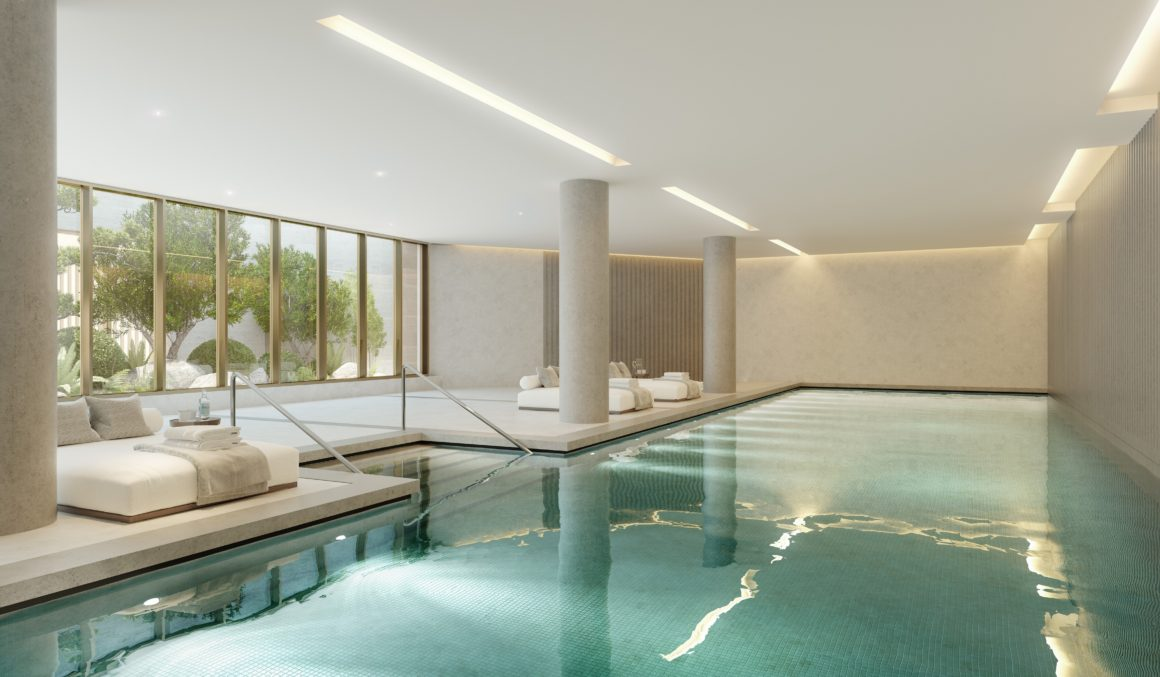 A Northacre development - No. 1 Palace Street London Swimming Pool