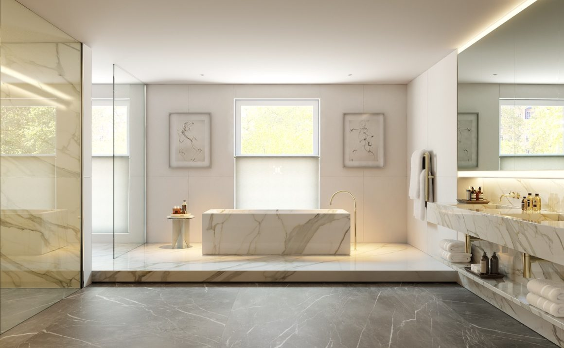 A Northacre development - No. 1 Palace Street luxury bathroom
