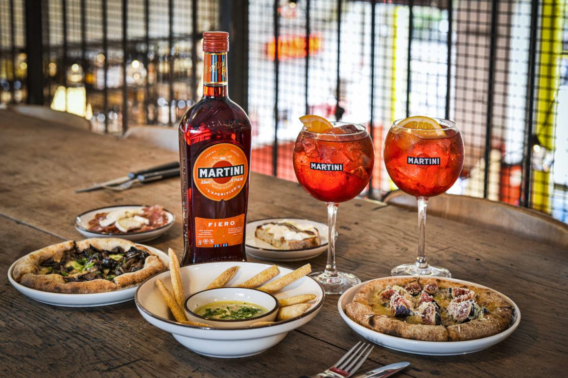 MARTINI Fiero cocktails The Cuff LDN