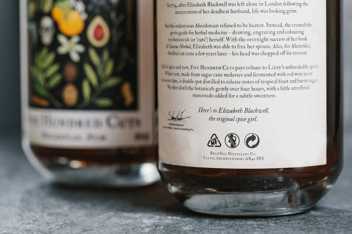 BrewDog Distilling Co. introduces Five Hundred Cuts Rum