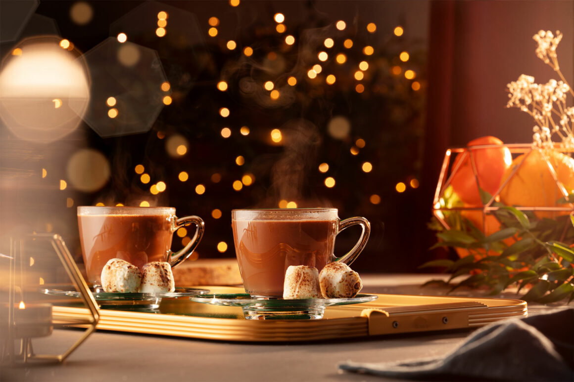 Christmas cocktails with Bacardi. A showcase of the finest festive tipples - Hot Chocotini