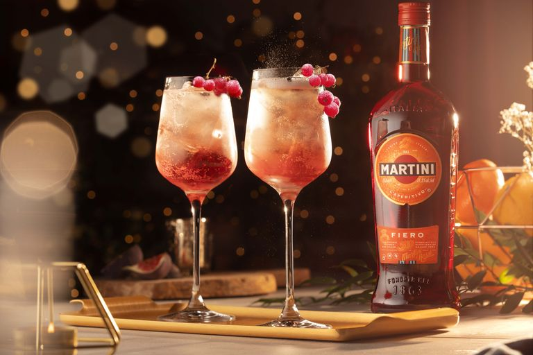 Christmas cocktails with Bacardi. A showcase of the finest festive tipples - Jingle Spritz
