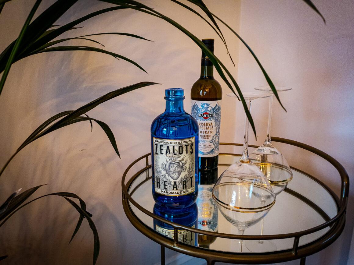 NYE Cocktail Creation - BrewDog Zealot's Heart Martini