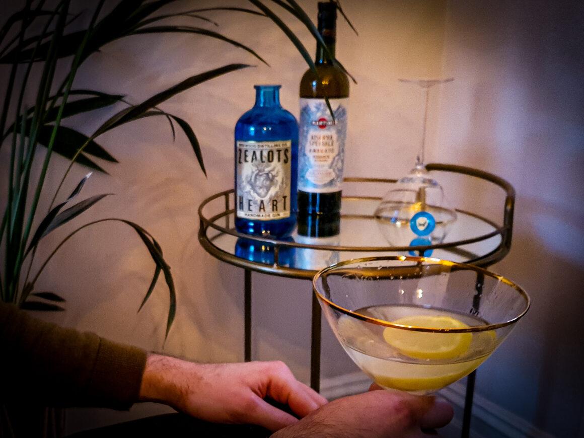 NYE Cocktail Creation - BrewDog Zealot's Heart gin