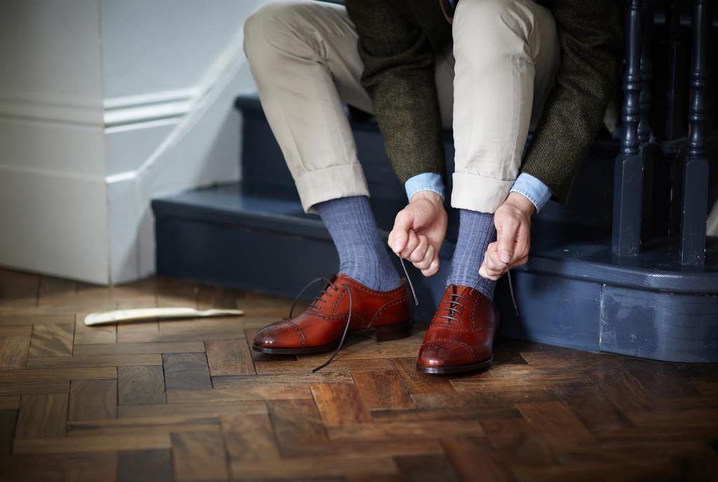 3 of the best Northampton Made in England shoe brands - Edward Green