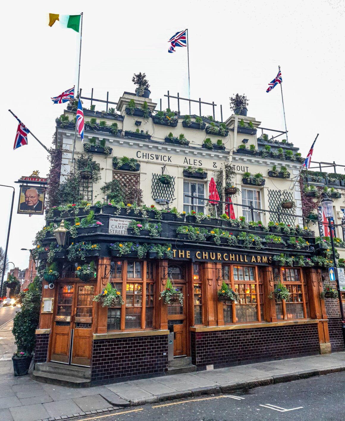 Exploring Kensington - The Churchill Arms Kensington - Hotels in Kensington