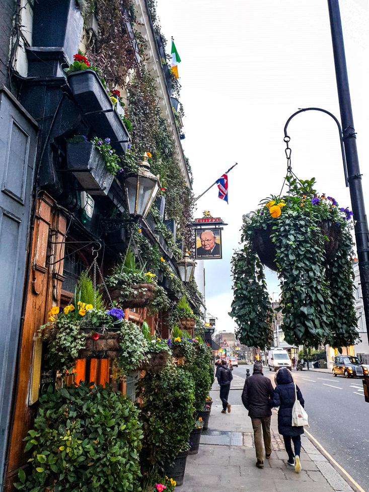 Exploring Kensington - The Churchill Arms Pub Kensington - Hotels in Kensington
