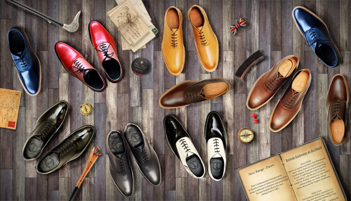 English footwear at its finest. Percy Stride Shoes are a testament to Northampton tradition