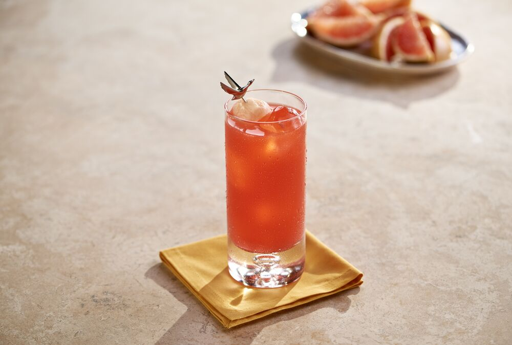 Valentine's Day cocktail recipes - Grey Goose Soft Sunset