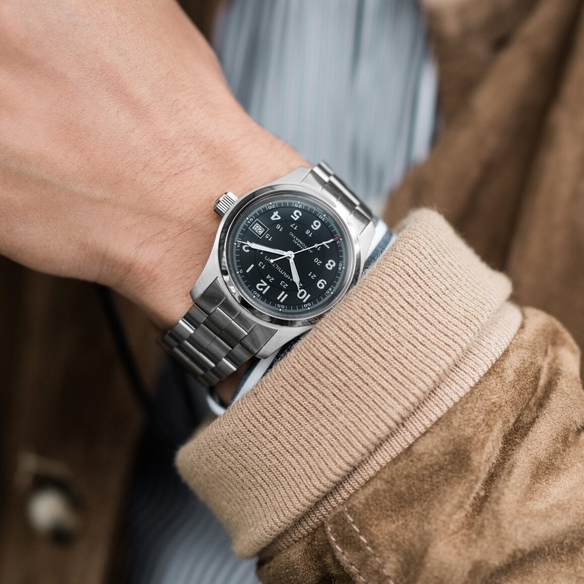 Five Affordable Watches to Start Your Collection - Hamilton Khaki Field Automatic