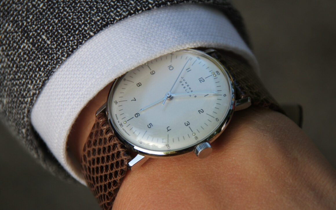 Five Affordable Watches to Start Your Collection - Junghans Max Bill Manual Wind