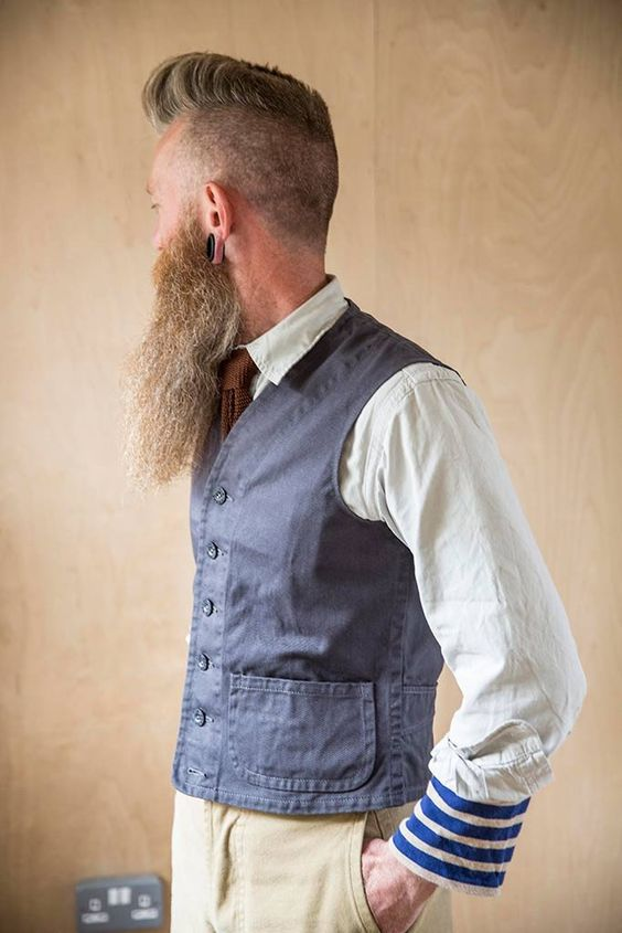 Old Town Clothing straight edge waistcoat