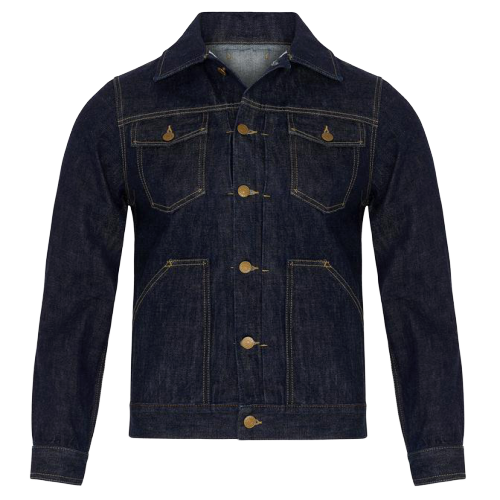 #500 Mr Will Halbert Editor in Chief of The Essential Journal feature - TWC MEN'S 13OZ JAPANESE SELVEDGE DENIM JACKET
