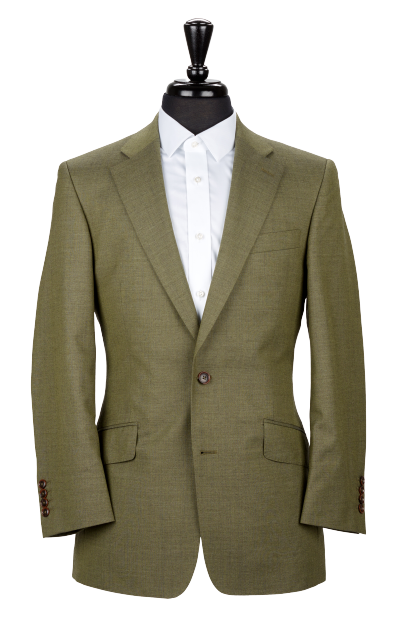 Alexandra Wood Men's Tailoring - A Modern Approach to Savile Row - Olive Green Jacket