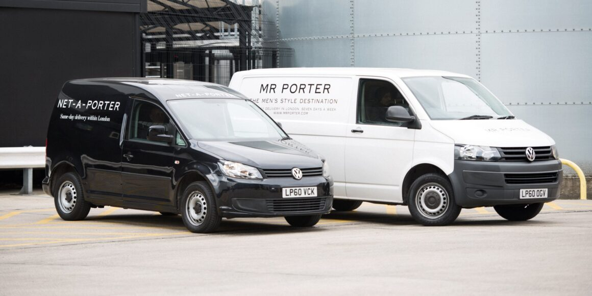 Good deed feed - Menswear giant MR PORTER limit operations to help tackle coronavirus - MR PORTER vehicles London