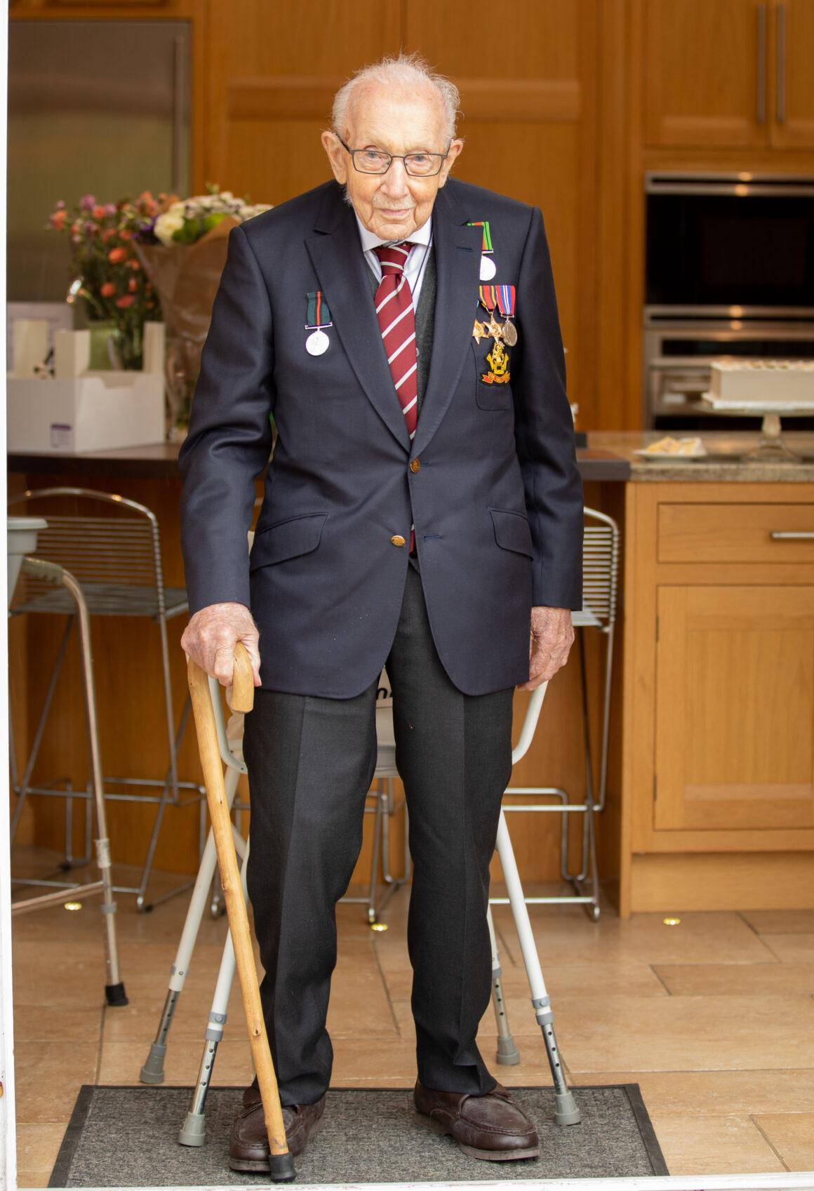 A Bespoke Birthday Gift for Captain Tom Souster & Hicks Suit