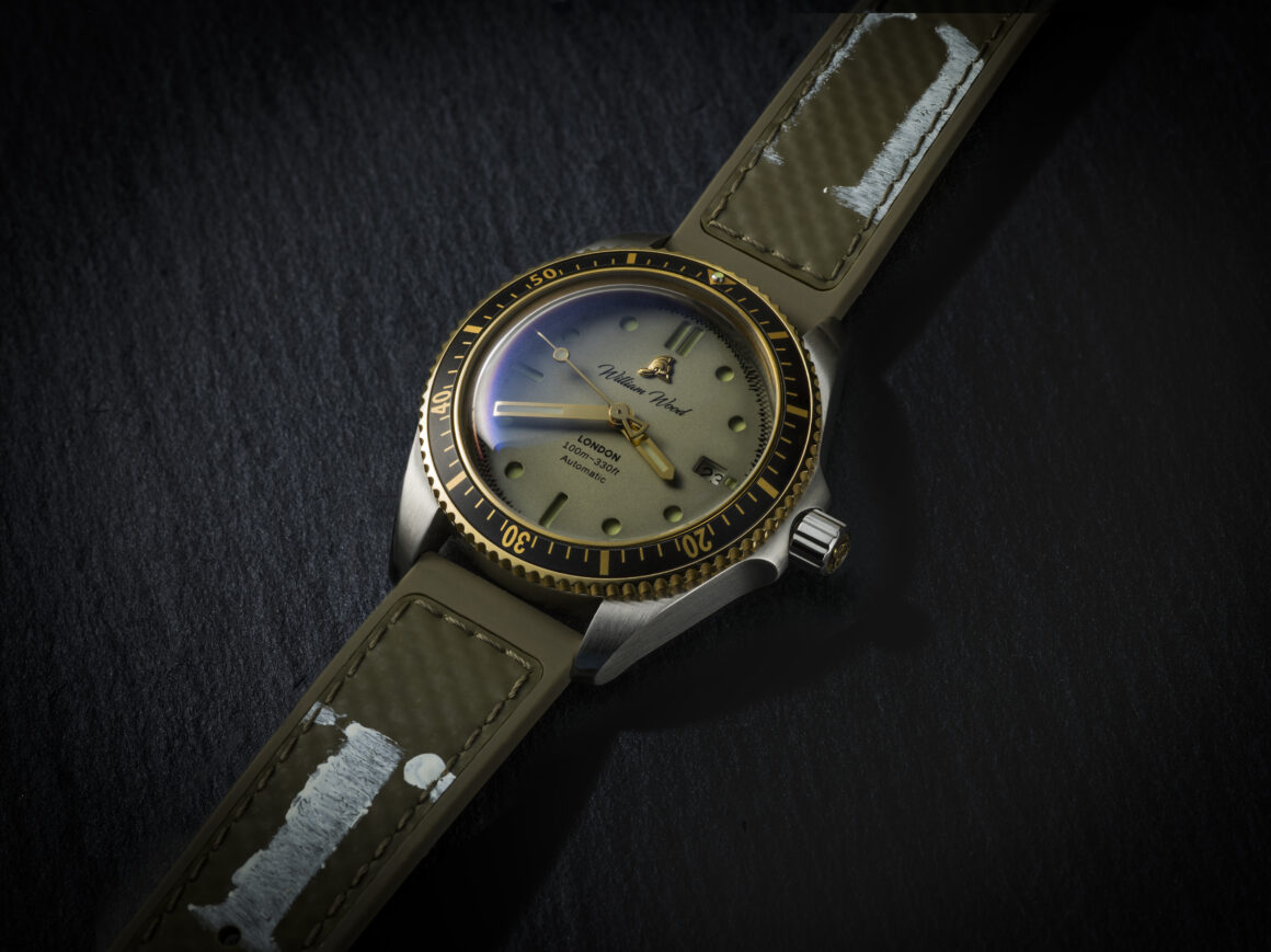 A New British Military Strap For The William Wood Watches Valiant Range