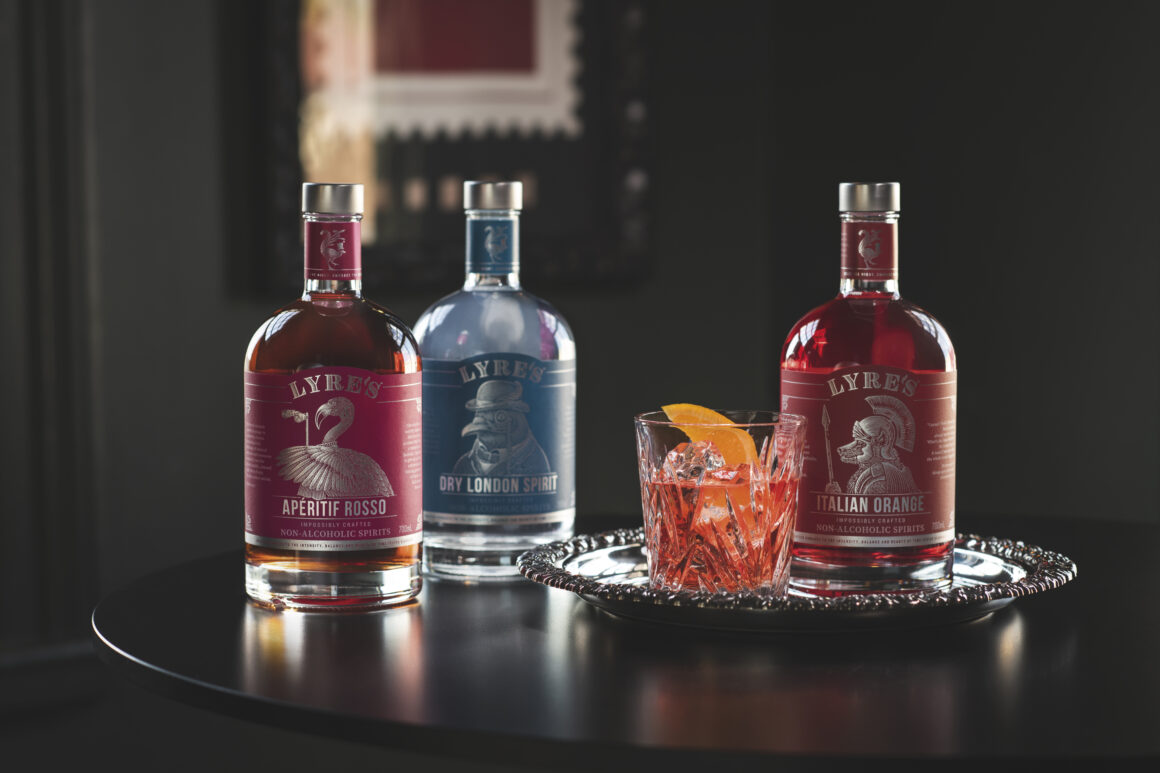 Lyre's Non Alcoholic Spirits - Lyres Negroni
