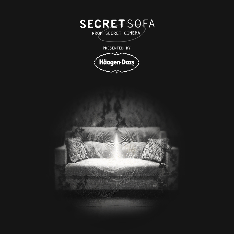 Secret Cinema's Secret Sofa With Romeo & Juliet. Two 'Rival House Serves'