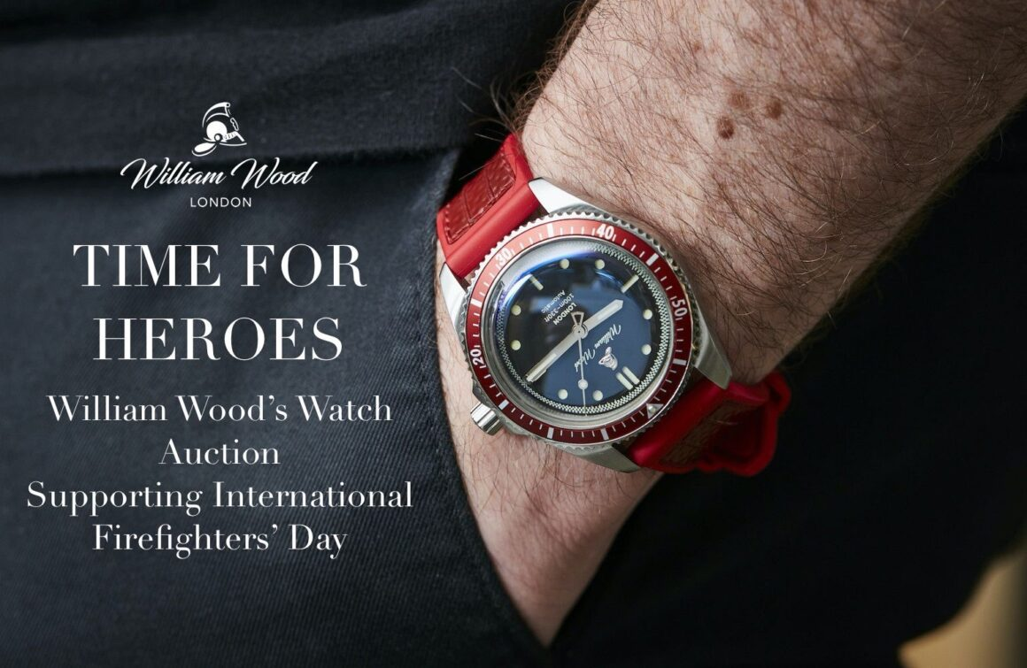 William Wood Watches Valiant Watch Auction