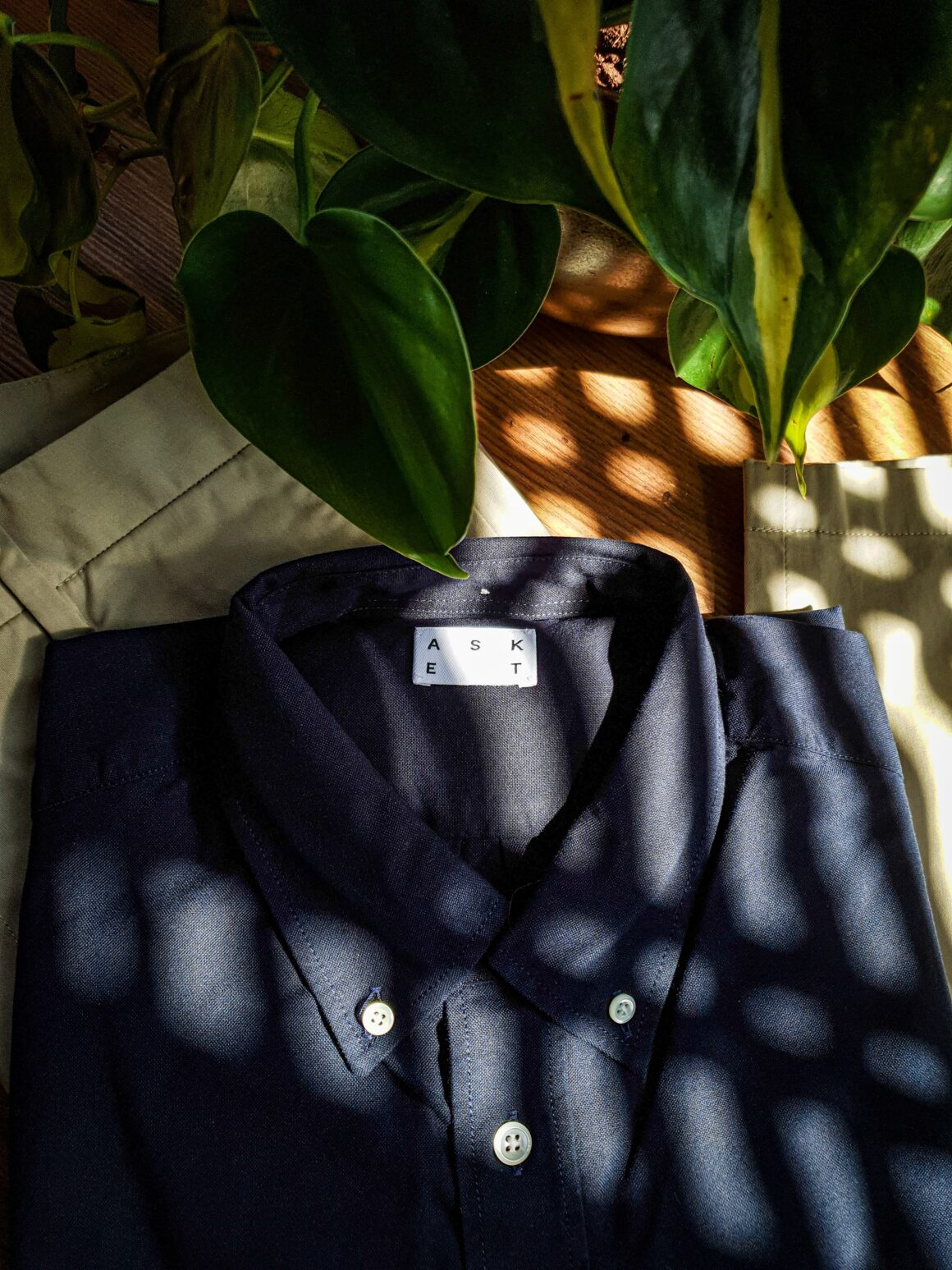 Working From Home With ASKET - ASKET Oxford Shirt