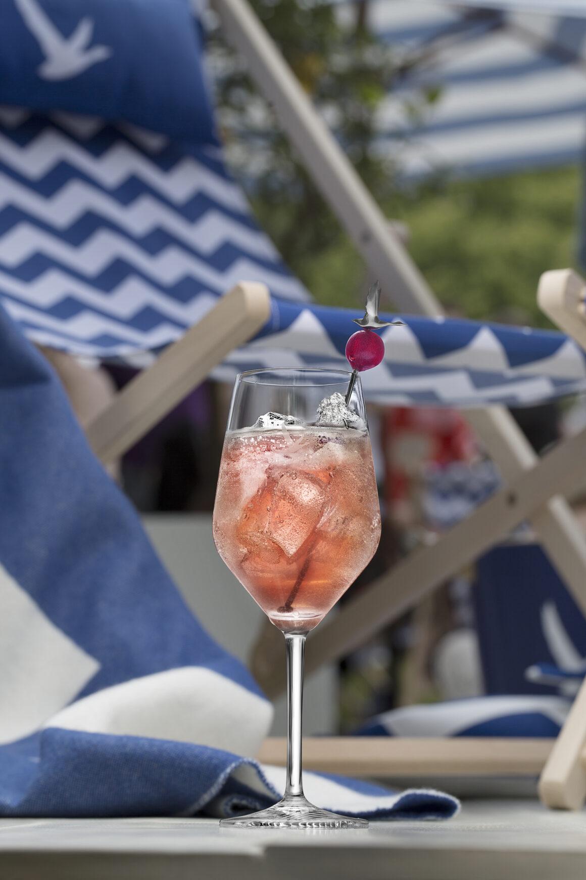 Bastille Day Cocktails - Grey Goose Le Grand Fizz Croisette