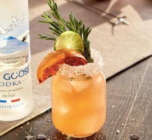 Summer Solstice Cocktails - Grey Goose Salty Dog