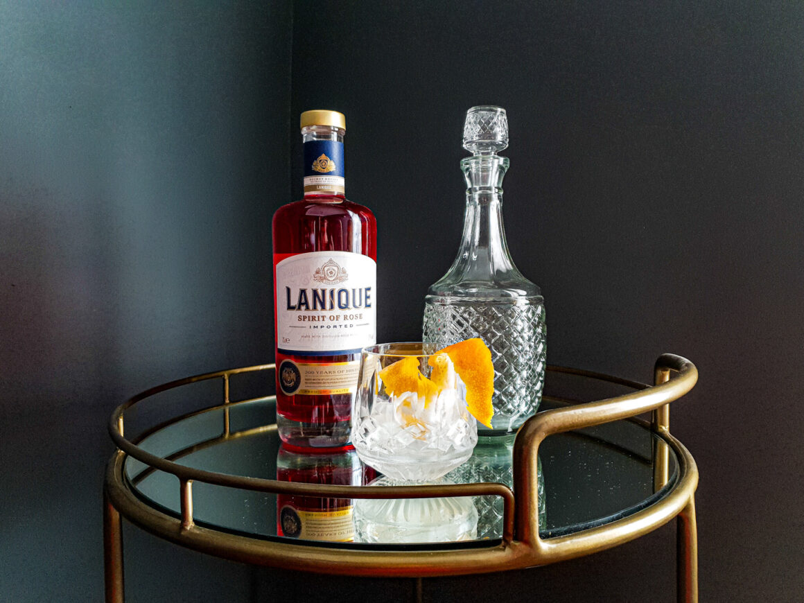 A Lanique Negroni Cocktail Off The Cuff LDN