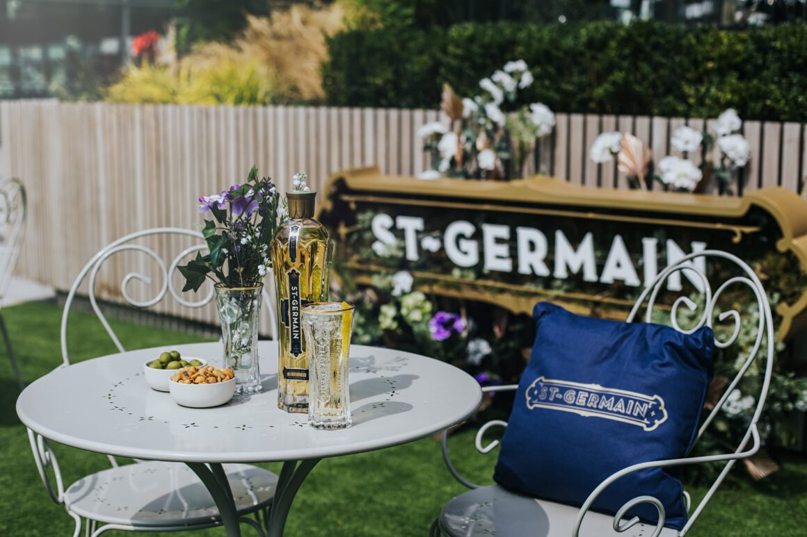 Alfresco drinking in London - St-Germain x The Stratford Hotel