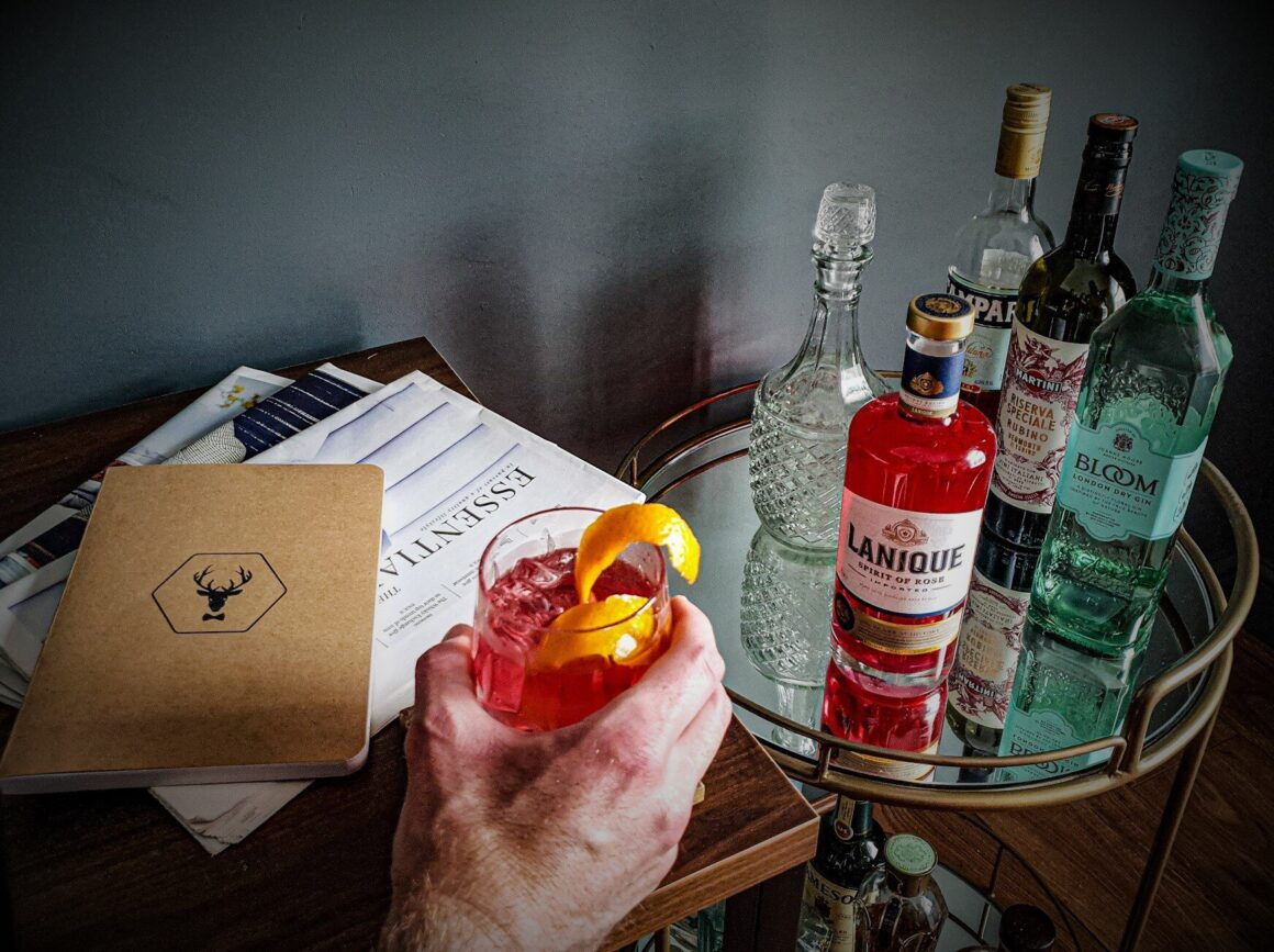 Gentleman Cocktail - Negroni Off The Cuff LDN