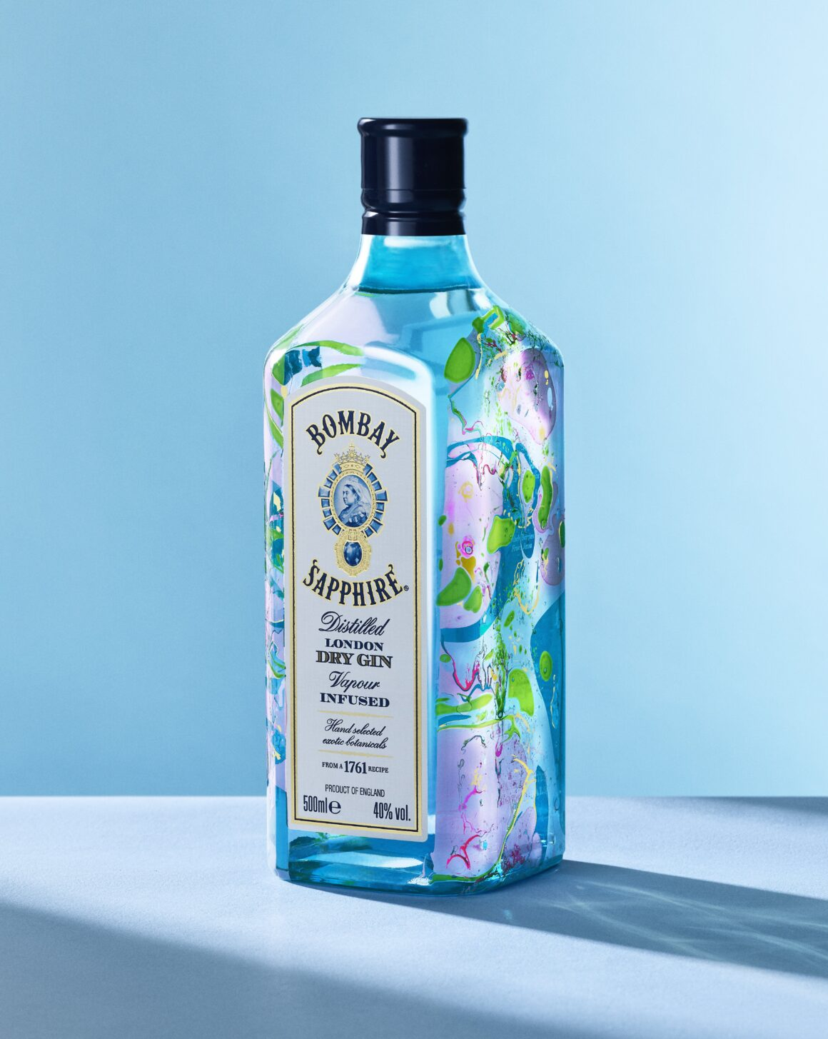 Bombay Sapphire Upcycling Sessions with Zeena Shah Bottle