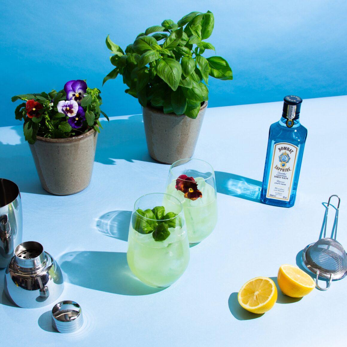Grow Your Own Garnish Kits - Bacardi X Floom. Bombay Sapphire