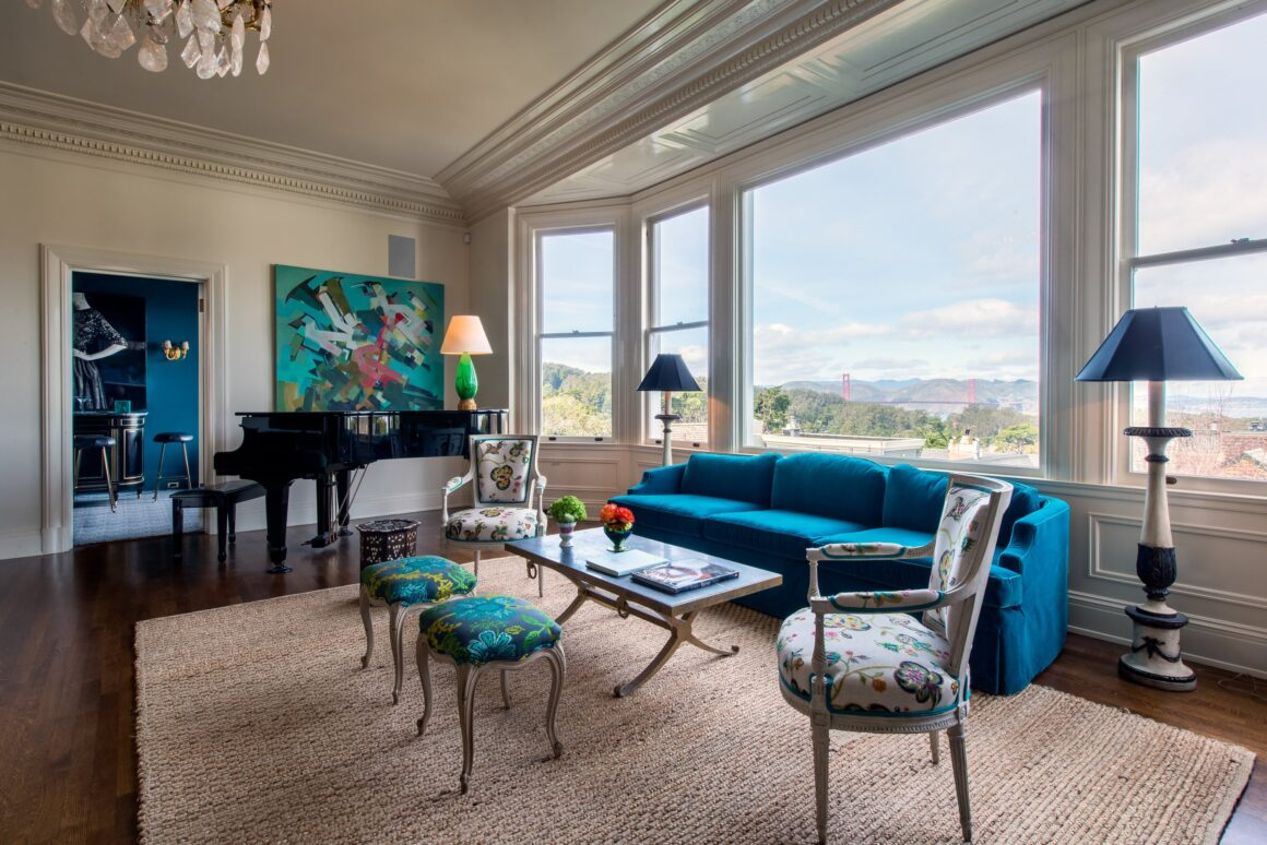 Off The Cuff LDN - SKIN Luxury Interior Design Arrives In London - Presidio Heights San Francisco