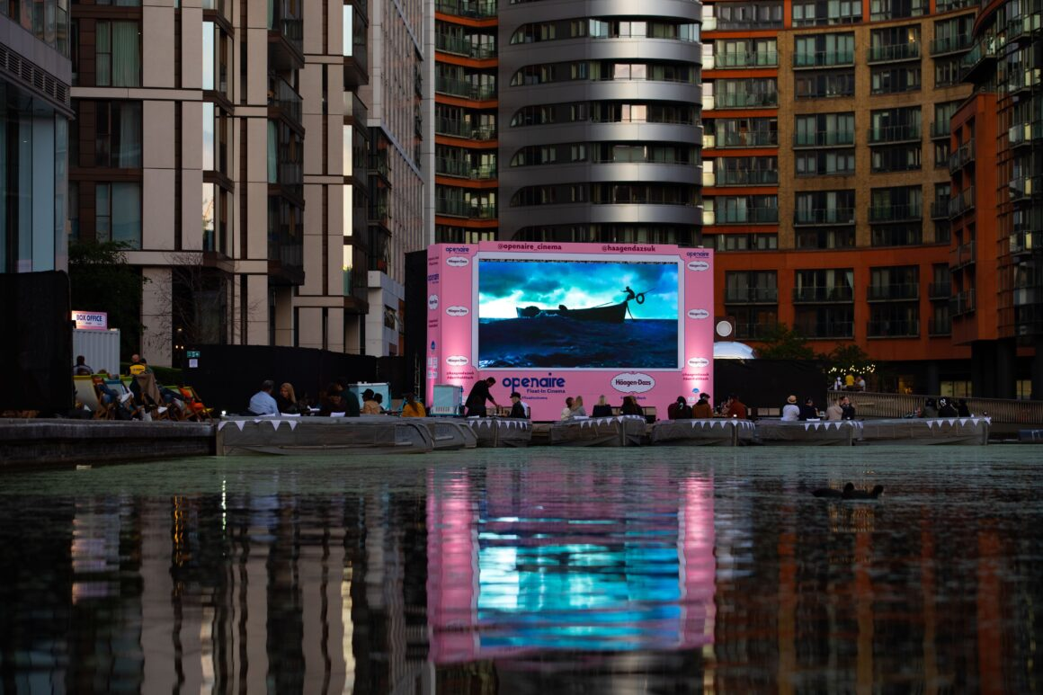 The UK's First Float In Cinema Arrives In London Openaire