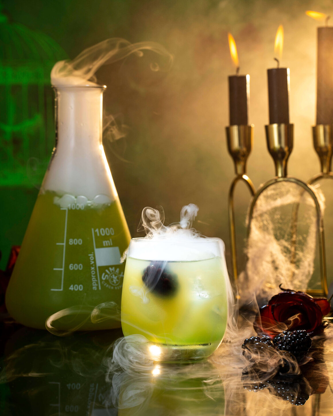6 Spooky Halloween Cocktail Sippers - Dr Jekyll
