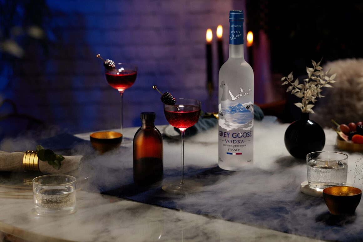 6 Spooky Halloween Cocktail Sippers - Grey Goose Lady In Black