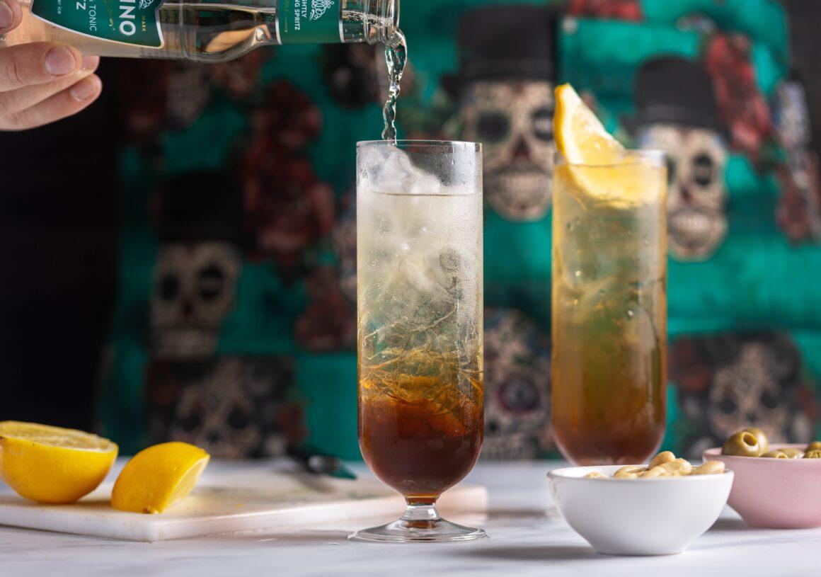 Autumn Cocktails from Pedrino - Earl Grey tea spritz