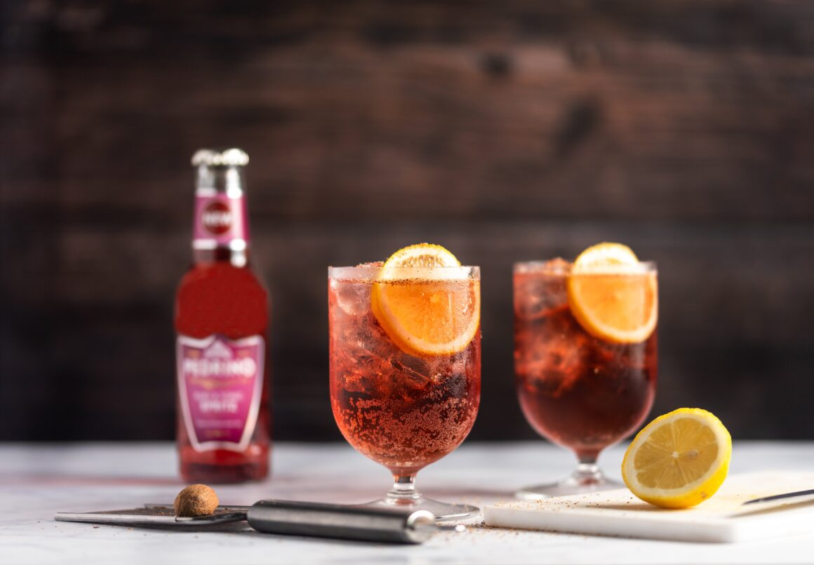 Autumn Cocktails from Pedrino - fall spritz