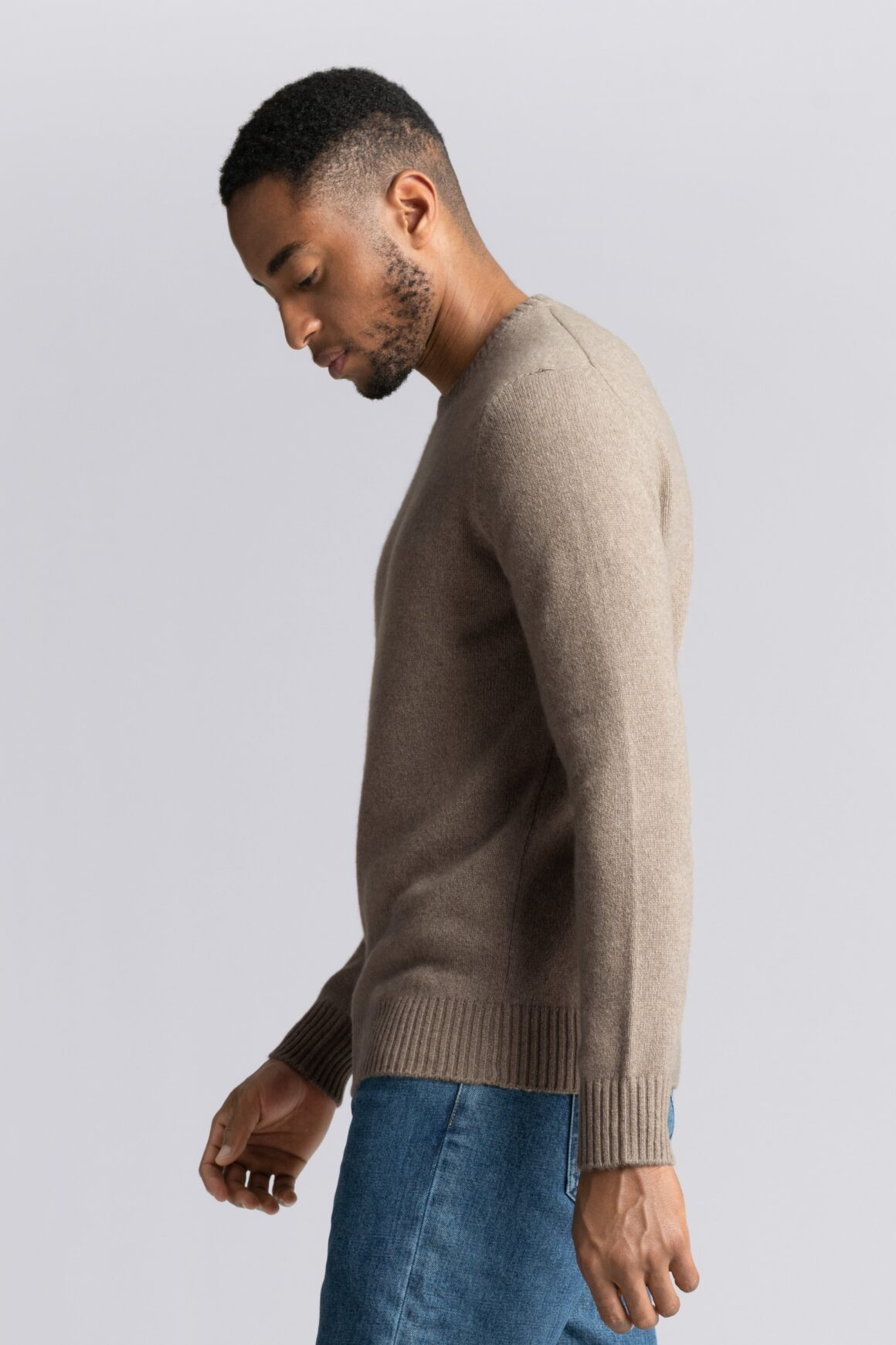 Buy Less, Shop Sustainably - ASKET Cashmere Sweater Clothing