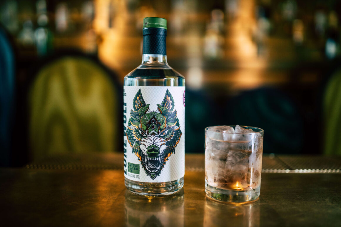 London Cocktail Week - Every Cocktail Counts - Howlin Wolf bottle