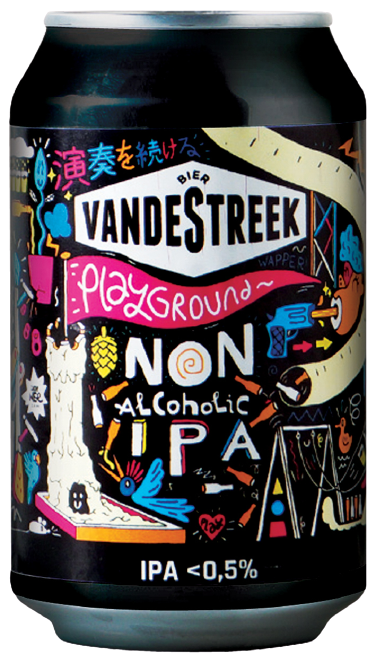 Low Alcohol Beers For Sober October - vandeStreek-Playground-33cl-Can