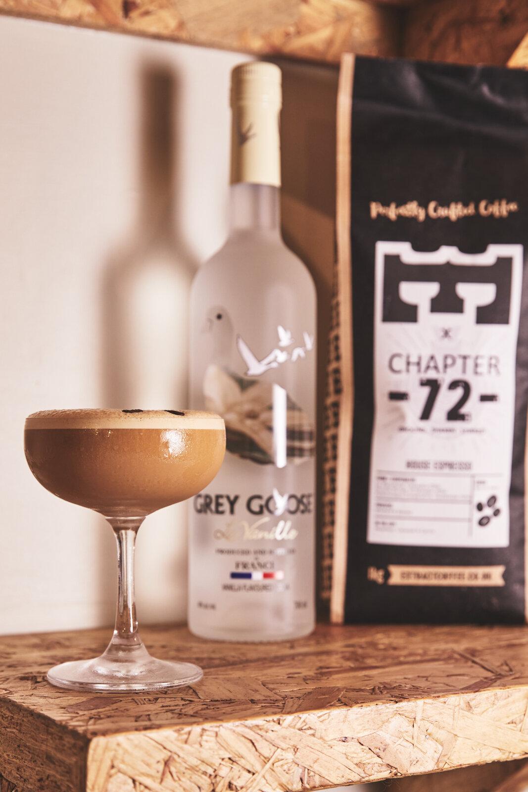 World Vodka Day - Top Vodka Tipples - Chapter 72 - Velvet Vanilla Espresso Martini