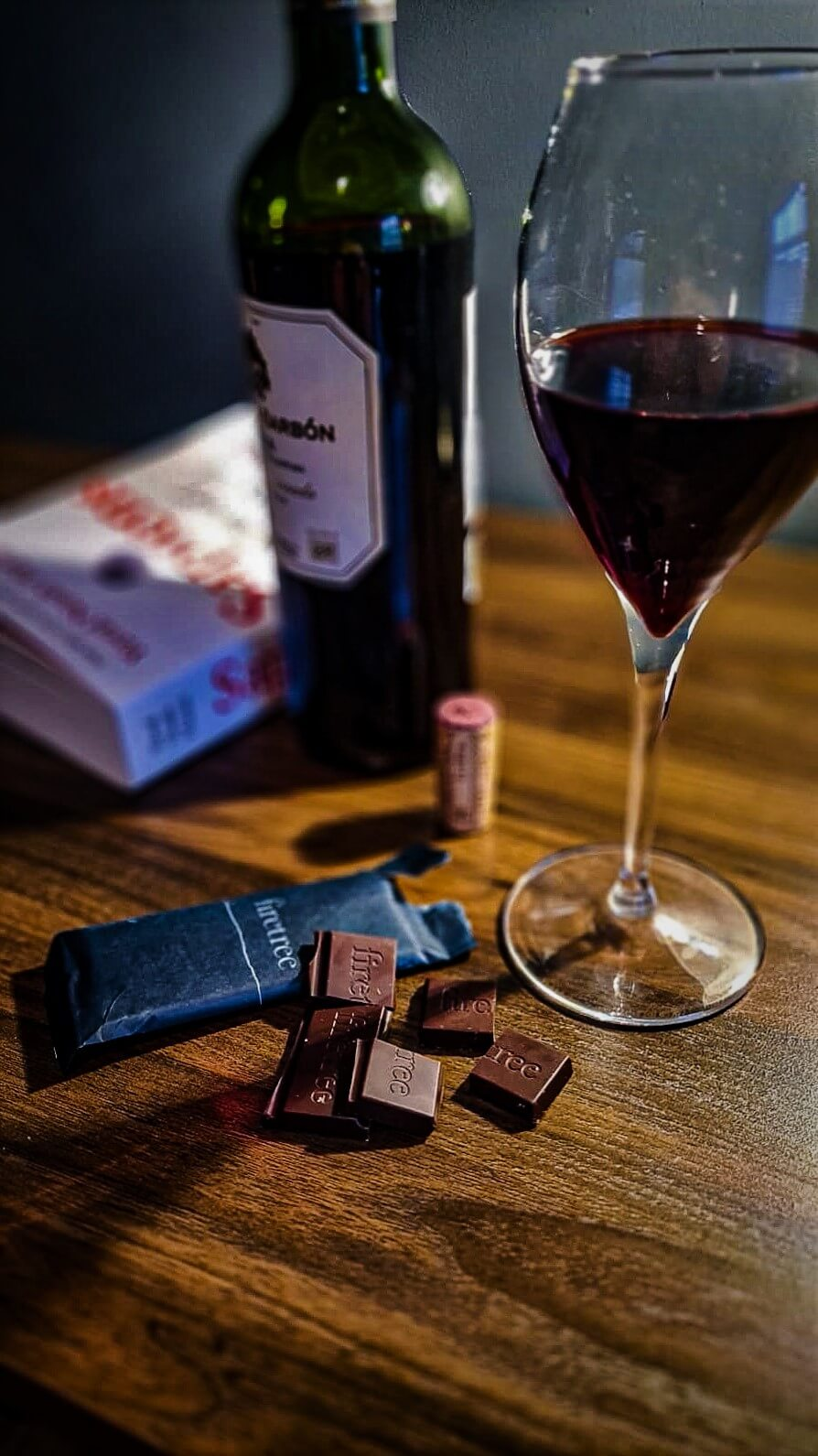 Luxury Chocolate and Wine - Firetree Instagram