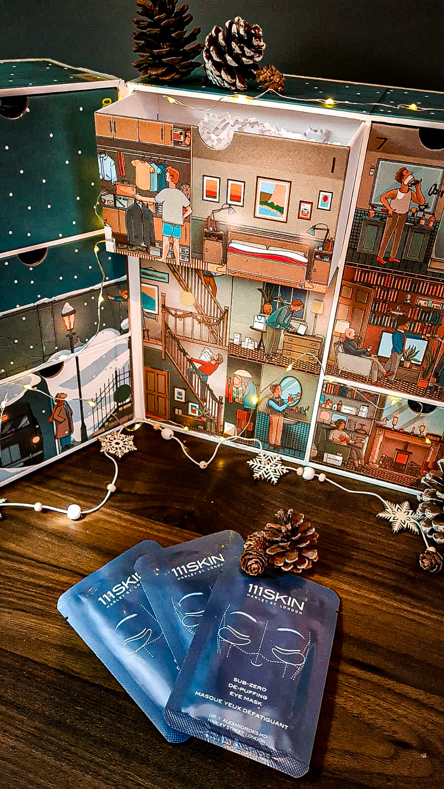 Beauty Advent Calendar With MR PORTER Post - 111SKIN